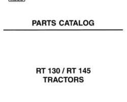 AGCO 1637419M6 Parts Book - RT130 / RT145 Tractor