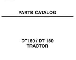 AGCO 1637420M7 Parts Book - DT160 / DT180 Tractor