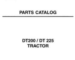AGCO 1637421M7 Parts Book - DT200 / DT225 Tractor