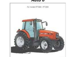 AGCO 3378783M1 Operator Manual - RT100A / RT120A Tractor (Auto 6)