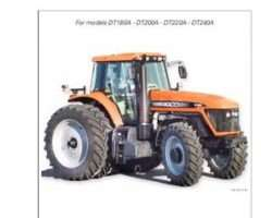 AGCO 3378894M1 Operator Manual - DT180A / DT200A / DT220A / DT240A Tractor (tier 3)