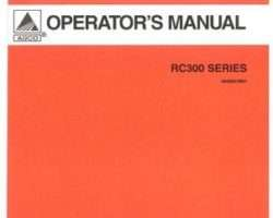 AGCO 3643651M91 Operator Manual - RC360 / RC372 Rotary Cutter