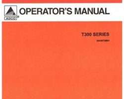 AGCO 3643660M91 Operator Manual - T300 Series Tiller (rotary)