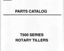 AGCO 3643674M91 Parts Book - T560 / T572 Rotary Tiller