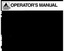 AGCO 3644300M91 Operator Manual - RC5010 / RC5015 / RC5115 Rotary Cutter