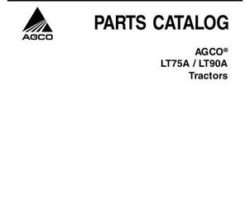 AGCO 3906006M6 Parts Book - LT75A / LT90A Tractor (Auto 4 / Speedshift)