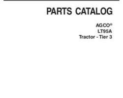 AGCO 3906185M10 Parts Book - LT95A Tractor (tier 3)