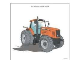 AGCO 4315425M1 Operator Manual - RT110A - RT120A RTA Series Tractor (tier 3, Auto 6)