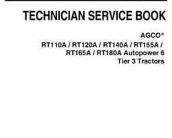 AGCO 4346431M1 Service Manual - RT A Series Tractor (tier 3, Autopower 6)