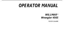 Willmar 554802D1A Operator Manual - 4565 Wrangler Loader (2012)
