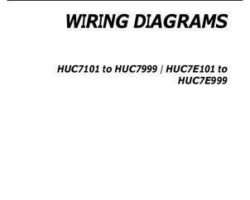 Gleaner 700735863A Operator Manual - 9795 / 670B / A76 / 9350R Combine (wiring diagrams, 2009)