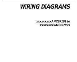 Gleaner 700735866A Operator Manual - 9795 / 670B / A76 / 9350R Combine (wiring diagrams, 2010)