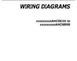 Gleaner 700735867A Operator Manual - 9895 / 680B / A86 / 9460R Combine (wiring diagrams, 2010)