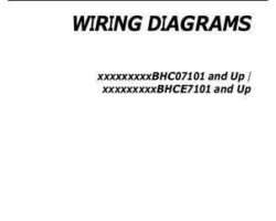 Gleaner 700735869A Operator Manual - 9795 / 670B / A76 / 9350R Combine (wiring diagrams, 2011)