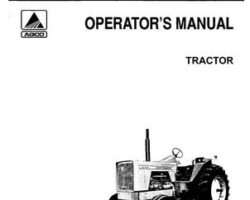 Allis Chalmers 70257945 Operator Manual - 220 Tractor