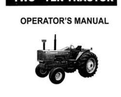 Allis Chalmers 70257946 Operator Manual - 210 Tractor