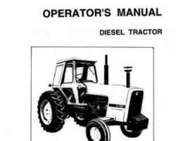Allis Chalmers 70261096 Operator Manual - 7000 Tractor (prior sn 8001)