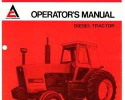 Allis Chalmers 70262681 Operator Manual - 7045 Tractor