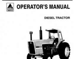 Allis Chalmers 70268339 Operator Manual - 7050 Tractor