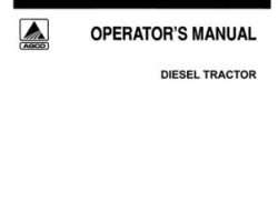 Allis Chalmers 70269528 Operator Manual - 7060 Tractor (prior sn 6001)