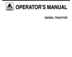 Allis Chalmers 70272202 Operator Manual - 7010 Tractor