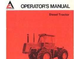 Allis Chalmers 70273459 Operator Manual - 4W-220 Tractor