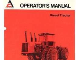 Allis Chalmers 70273460 Operator Manual - 4W-305 Tractor