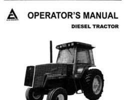 Allis Chalmers 70275872 Operator Manual - 8010 / 8030 Tractor