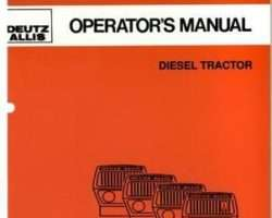 Allis Chalmers 70276877 Operator Manual - 6150 Tractor