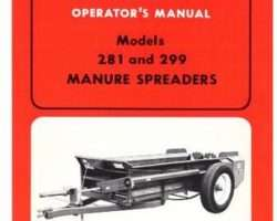 AGCO Allis 70573152 Operator Manual - 281 / 299 Manure Spreader