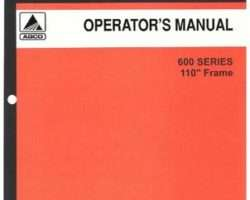 Allis Chalmers 70581042 Operator Manual - 600 Series Planter Unit (110 inch frame, 1975)