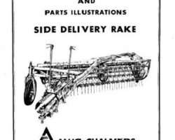 Allis Chalmers 70828453 Operator Manual - Side Delivery Rake