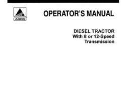 Allis Chalmers 72088729 Operator Manual - 5040 Tractor (with 8 / 12 speed transmission)