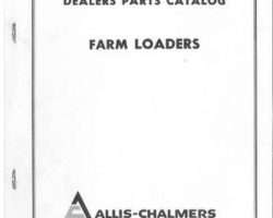Allis Chalmers 79003131 Parts Book - 90 / 100 / 140 / 150 / 170 / 180 Loaders (also see thumbnail)