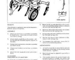Allis Chalmers 79003177 Operator Manual - B-1 Cultivator (Tractor Mounted)