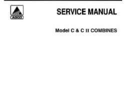 Gleaner 79003423 Service Manual - C / C2 Combine (packet)