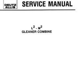 Gleaner 79003492 Service Manual - L2 / M2 Combine (packet)