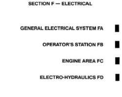 Gleaner 79004676 Service Manual - L2 / L3 / M2 / M3 Combine (electrical) (section)