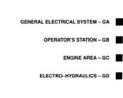Gleaner 79004683 Service Manual - R40 / R50 Combine (electrical) (section)
