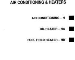 Gleaner 79004684 Service Manual - R40 / R50 Combine (air conditioning) (section)