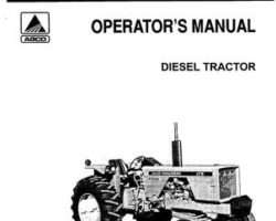 Allis Chalmers 79004709 Operator Manual - 175 Tractor (prior sn 2151)
