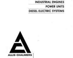 AGCO Allis 79007396 Parts Book - 10000 / 11000 Engine & Power Unit