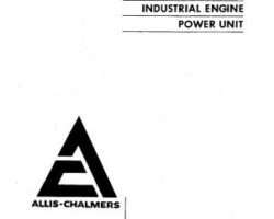 AGCO Allis 79007401 Parts Book - 2800 / 2900 Engine (industrial)