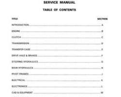 AGCOStar 79017226B Service Manual - 8360 / 8425 Articulated Tractor (packet)