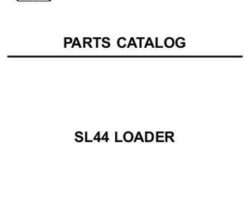 AGCO 79019084C Parts Book - SL44 Loader