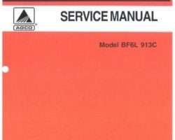 AGCO Allis 79019277 Service Manual - BF6L 913C Engine (air cooled)