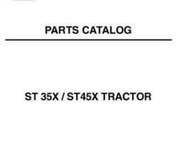 AGCO 79019325B Parts Book - ST35X / ST40X Compact Tractor