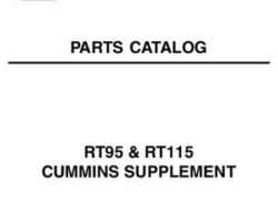 AGCO 79019461B Parts Book - RT115 / RT95 Tractor (Cummins engine supplement)
