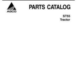 AGCO 79021865B Parts Book - ST55 Compact Tractor