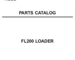 AGCO 79021894B Parts Book - FL200 Loader